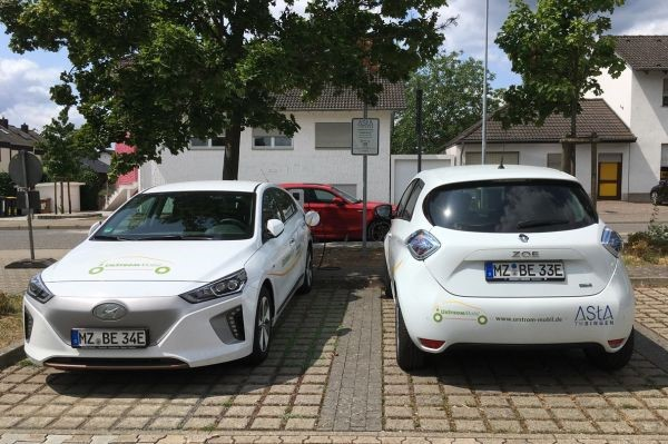 Elektro-Carsharing am Campus der TH Bingen in Büdesheim